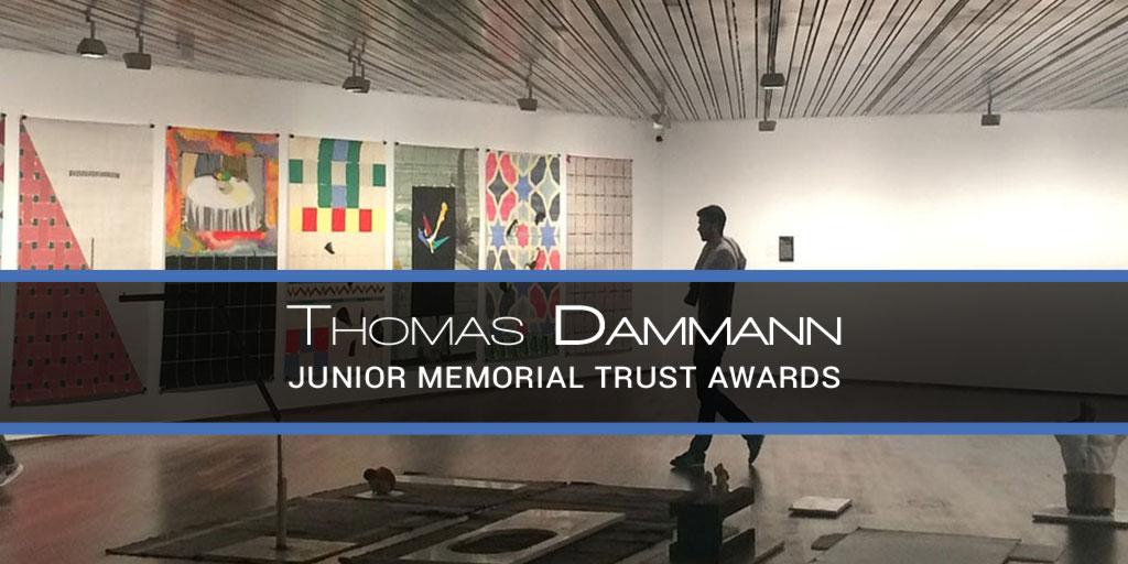 Thomas Dammann Junior Memorial Trust Awards Irish Art History Design